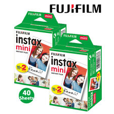 40 Sheets Fujifilm Instax Mini Plain White Film Camera Photo - 7s 8 9 70 90 Sp-2