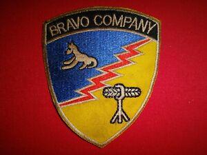 US Company B 103rd Militär Intelligence Bataillon Bravo Company Aufnäher