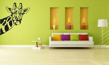 Wall Vinyl Sticker Room Decals Mural Design Giraffe Africa Jungle Animal bo1228
