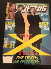STARLOG MAY 1994 #202 THE X-FILES + SEA QUEST + ROBO COP + BABYLON 5