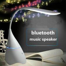 USB Recargable Lámpara de Escritorio Altavoz Inalámbrico De Mesa De Luz Bombilla LED Lámpara De Bluetooth