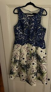 "Extremely stunning ""Debut"" Debenhams Unique Dress Size 16"