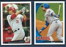 Finish Your 2009 2010 TOPPS Sets Series 1&2 1-660 Updates 1-330 U PICK 30