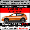 # OFFICIAL WORKSHOP Service Repair MANUAL for SUBARU XV 1997-2005 +WIRING #