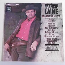 """33T Frankie LAINE Disque LP 12"""" HELL BENT FOR LEATHER Johnny Williams CBS 52610"""