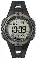 Timex Men's Marathon T5K802 Black Rubber Analog Quartz Watch