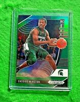 CASSIUS WINSTON GREEN PRIZM ROOKIE CARD MICHIGAN STATE RC WIZARDS 2020 PANINI RC