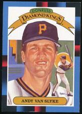 1988 Donruss Diamond Kings #18 Andy Van Slyke Pittsburgh Pirates