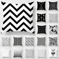 Modern Cushion Covers Pillow Case Sofa Bed Car Waist Throw Home Decor Geometric