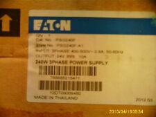 Eaton PSG240F Ac To Dc Power Supply 400-500v-ac 10a Amp 24v-dc 240w