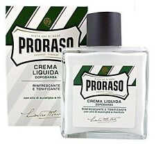 Proraso NEW 'Green' Aftershave Balm Crema Liquida Menthol and Eucalyptus 100ml