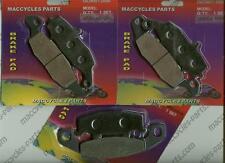 Kawasaki Disc Brake Pads ZR1100 Zephyr 1996-1999 & 2002 Front & Rear (3 sets)