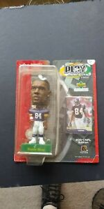 2001 NFL Play Makers Randy Moss Minnesota Viking Bobble Head