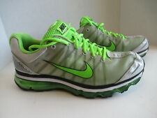 los angeles e710b 61a18 Nike Air Max+ 2009 354744-015 Men s Running Shoes Gray-Neon Green-Black