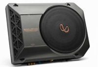 "Infinity BassLink SM 2AM Powered 8"" Underseat Subwoofer + Remote Bass Cntrl Blk"