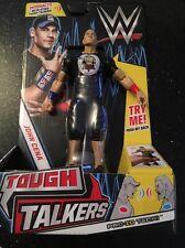 WWE Tough Talkers John Cena Figure New Mattel Wrestling NEW SHIPS NOW RARE