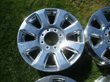 20 X 8 OEM F250 F350 factory Polished Alloy wheel Rim 10103 2018 - 2020 #2 XLNT