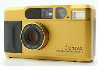 【Near MINT】Contax T2 Gold 35mm Point & Shoot 35mm Film Camera from JAPAN #386