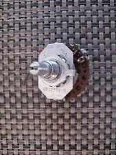 Vintage Harman Kardon Citation II Amplifier BIAS Meter Selector Switch