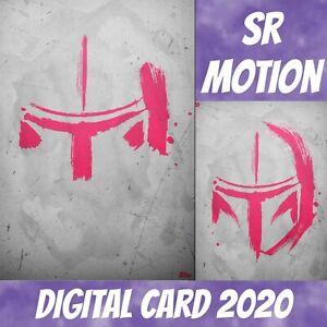 Topps Card Trader Star Wars Mando Helmet The Mandalorian Brush Strokes Pink W/1