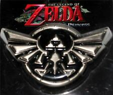 "LEGEND OF ZELDA Triforce NINTENDO Anime Video Game Unisex BELT BUCKLE 3-1/2"" New"