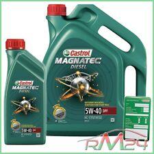 Olio Motore 5 1 Litro Castrol Magnatec Diesel 5w-40 DPF etichetta cambio