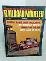 Railroad Modeler Magazine February 1973 Z N HO S O G vintage