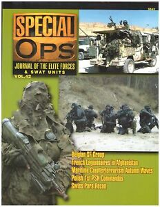 SPECIAL OPS - JOURNAL OF THE ELITE FORCES & SWAT UNITS VOL.42 - CONCORD - NEW