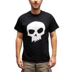 Sid Phillips Skull T-Shirt Toy Story Movie Black Costume Halloween Villain Gift