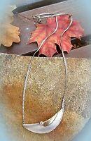 sinnliche enge kette collier s925 gg585 kleiner brillant 80er v wiener juwellier