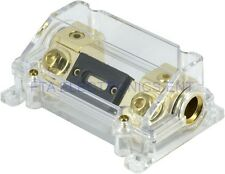 Heavy Duty ANL Fuse Holder In/Out 4GA 4Gauge with 300 AMP 300A Car Audio Fuse