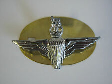 Parachute Regiment (Para) Beret Cap Badge  British Army - Brass Base Metal