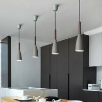 Kitchen Island Pendant Light Bar Chandelier Lighting Wood Modern Ceiling Lights