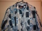 VINTAGE AUSTRALIAN MADE CASUAL FUNKY PRINT SHIRT SIZE L EXC- CONDITION