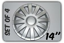 """SET OF 4 14"""" UNIVERSAL WHEEL TRIMS COVERS RIMS HUB CAPS TO FIT CHRYSLER +GIFT #7"""