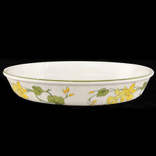 """GERANIUM Villeroy & Boch OVAL BAKING DISH 13.25"""" long NEW NEVER USED Germany"""