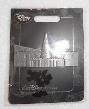 Walt Disney Studios Roy Disney Animation Building Pin Exclusive Pewter New