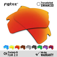 Firtox Polarized Replacement Lenses For-Oakley Flak 2.0 Frame OO9295- Opt