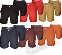 Mens Shorts Soulstar Chino Cotton Summer Half Pants Roll Up Casual Designer New