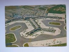 AMSTERDAM Holland airport SCHIPHOL aereo old postcard