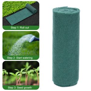 """2x Stuoia Biodegradabile per Semi di Erba 8""""x 120"""" Stuoia di Avviamento per Semi"""