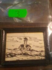 1:12 SCALE PAINTINGS BY ARTIST: MARILYN STEVENS SIGNED DATED LIMITED EDITION