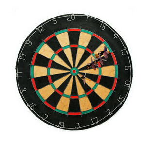 Tournament Bristle Dartboard W 6 Regulation Steel Tip Darts Brand NEW