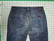 Seven 7 for all Mankind 26 / 27 x 31 A pocket bell flare boot cut jeans blue