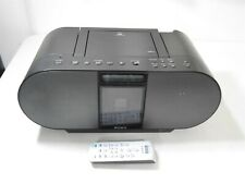 Sony ZS-S4iP for iPod & iPhone Portable BoomBox Speakers Personal Audio System