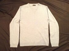RW & CO LUXE 100% CASHMERE L/S SWEATER Sz M V-Neck Gently used Good condition
