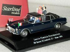 LANCIA FLAMINIA PRESIDENZIALE HM QUEEN ELISABETH II ROME 1961 STARLINE 1/43