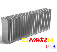 1pc 60x150x25mm Silver Aluminum Heat Sink for LED and Power IC Transistor