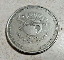 Stardust Hotel Casino One Dollar Gaming Token Las Vegas Nv Chip $1 Coin