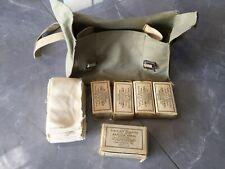 Vintage Military Army Canvas Israeli Shoulder IDF Backpack Rucksack Lebanon war